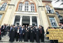 Yunan Başbakan Çipras'tan bir ilk Ruhban Okulu'na tarihi ziyaret