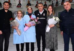 Süper Lig devleri, Kadınlar Gününü kutladı...