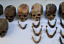 Türkiyede binlerce yıllık toplu mezar bulundu
