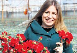 Avrupalı sevgilinin çiçeği Antalya'dan