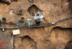 İçine define saklanmış mamuta ait kafatası bulundu
