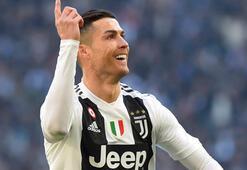 Juventus, Ronaldonun golleriyle kazandı