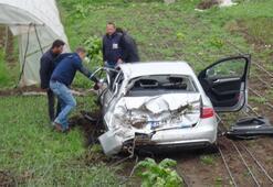 Ünlü Yazar Kahraman Tazeoğlu kaza geçirdi