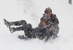 Konyada bugün okullar tatil mi 9 Ocak Konyada kar tatili...