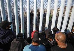 Orta Amerikalı göçmenlerden bazıları Meksika sınırına ulaştı
