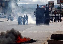 Hondurasta sokaklar karıştı