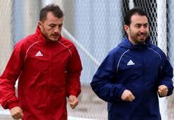 Sivassporda Ziya takımdan ayrı koştu
