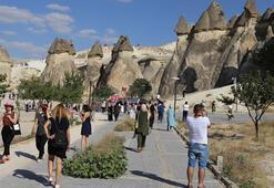Kapadokyayı bir ayda 128 bin 955 turist ziyaret etti