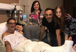 Cem Özer'e hastane ziyareti