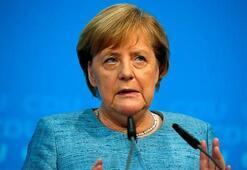 Merkel, Suudi Arabistan Kralı ile görüştü