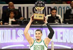 NBA All-Star yetenek yarışmasını Tatum kazandı