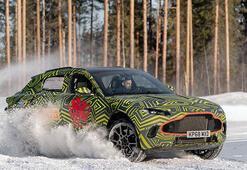 Aston Martinin ilk SUVu DBX zorlu testlerden geçiyor