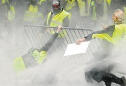 'Sarı yelekli' eylemi Brüksel'e de sıçradı