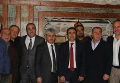 Hatayspor-Galatasaray maçı öncesi dostluk yemeği