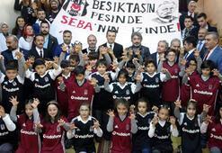 Beşiktaştan Erzurumda öğrencilere 800 forma