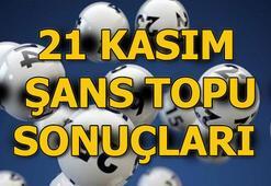 21 Kasım Şans Topu sonuçları açıklandı Şans Topunda büyük ikramiye...