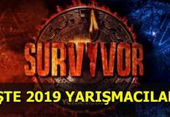 Survivor 2019 yarışmacıları belli oldu İşte Survivor Türkiye-Yunanistan yarışmacıları...
