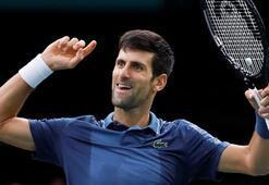Djokovic, Federeri yenerek finale çıktı