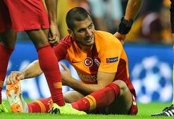 Galatasarayda Eren Derdiyok sakatlandı
