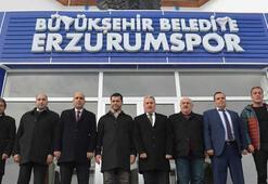 Erzurumspor Başkanı Hüseyin Üneşten birlik çağrısı