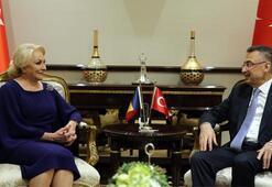 Fuat Oktay, Romanya Başbakanı Dancila ile görüştü