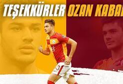 Galatasaraydan Ozan Kabaka teşekkür mesajı