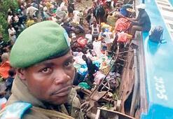 Kongo'da tren kazası