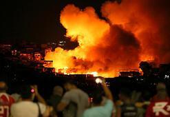Brezilyada yangın 600 evi kül etti