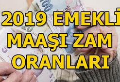 2019 emekli maaşı ne kadar oldu Emekli maaşı zam oranı...
