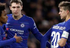 Chelsea 3 golle tur atladı