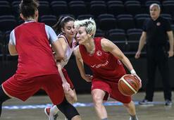 A Milli Kadın Basketbol Takımı, kampa girdi