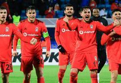 Beşiktaş Norveçte zoru başardı