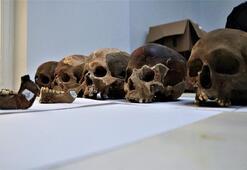 Kadıini Mağarasında toplu mezar bulundu