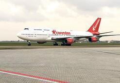Jumbo jeti otelin bahçesine çekecek