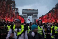 Fransada izinsiz gösteriler ve şiddet olayları cezalandırılacak