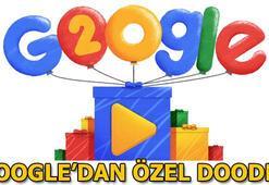 Googleın 20. yaş günü bakın nasıl Doodle oldu Googleın 20. yaşı...