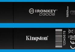 Kingston IronKey D300 şifreli USB daha güvenli hale geldi
