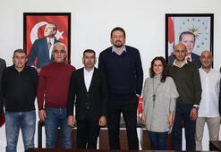 TSYDden Hidayet Türkoğluna ziyaret