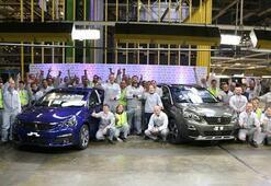 Peugeot 308in 1 milyonuncu üretimi kutlandı
