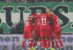 Bursaspor - Antalyaspor: 0-2