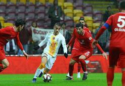 Galatasaray - Keçiörengücü: 1-1 (İşte maçın özeti)