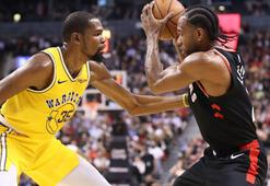 Raptors, Golden State Warriorsı uzatmalarda yendi
