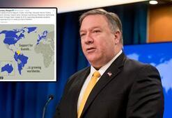 Son dakika: ABD Dışişleri Bakanından skandal paylaşım Türkiyeyi böyle gösterdi