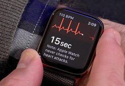 Apple Watchtaki EKG uygulamasıyla kalp sorununu keşfetti