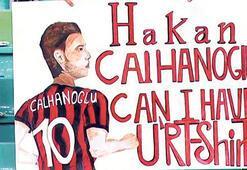 Hakan Çalhanoğluna forma talebi