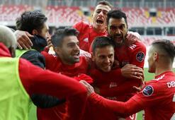 Sivasspor coştu bir kere