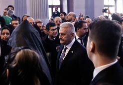 Binali Yıldırım Mesrob Mutafyanın cenaze törenine katıldı