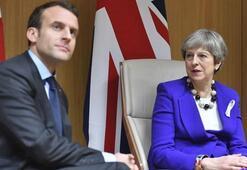 Macron ve May Kral Selman ile telefonda görüştü