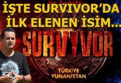 Survivorda kim elendi 5 Şubat Survivor 2019da ilk elenen isim...