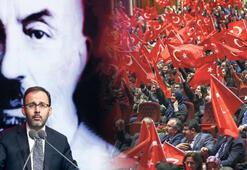 Milli şair Mehmet Akif Ersoy unutulmadı